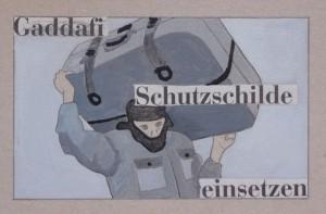 Flucht vor Gadafi/  23.3.2011